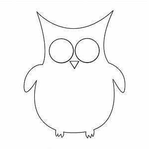 owl template animal templates free premium templates With owl templates for sewing