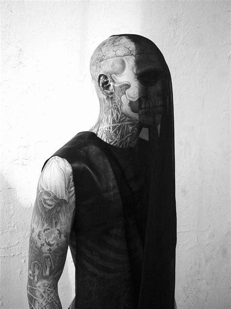 An Interview with the Extremely Tattooed Zombie Boy | Scene360