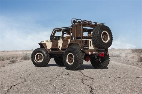 starwood motors this starwood motors sema jeep is king of the mountain