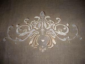 Pochoir Peinture Murale : pochoir peinture murale d co des photos des photos de ~ Premium-room.com Idées de Décoration
