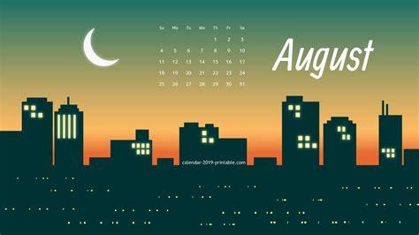 august  calendar wallpaper august august