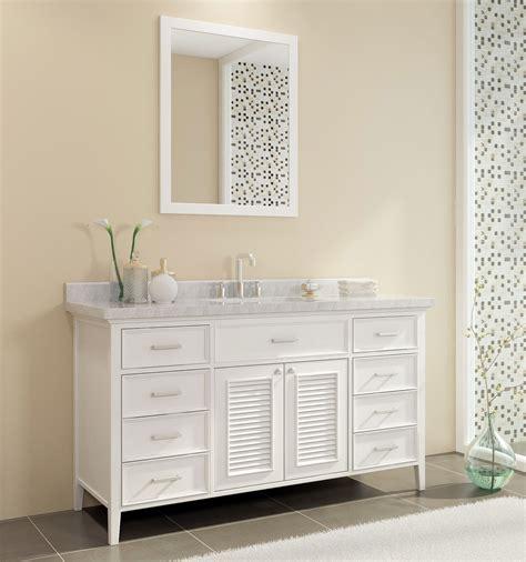 ariel kensington  cottage single sink bathroom vanity