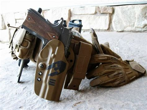 1911 holster belt tactical code holsters pistol tac gear guns weapons kydex pistols packed airsoft firearms police