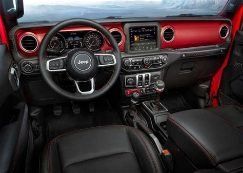 2019 Jeep Interior by 2019 Jeep Wrangler Release Date Price Interior Redesign