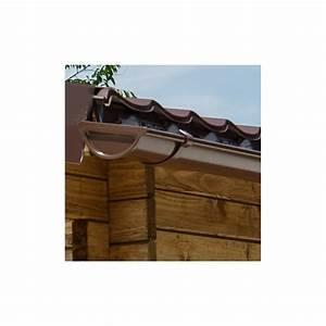 Gouttière Pour Abri De Jardin : kit goutti res marron pack pr t la pose pour abri gardy shelter 20m ~ Melissatoandfro.com Idées de Décoration