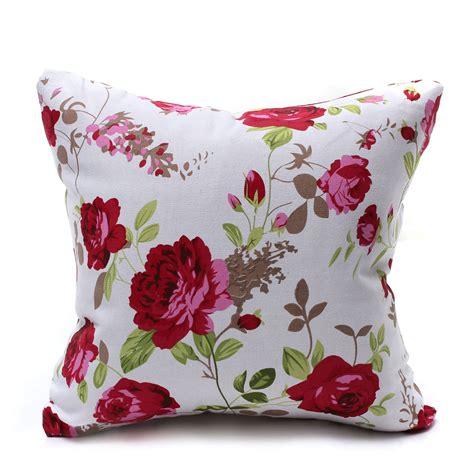 European Classic Flower Floral Cushion Cover Throw Pillow