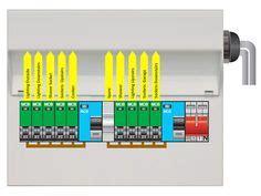 Hager Design Consumer Unit Way Rcbo Board