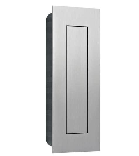 stainless steel flush door pull with flush cover ahi