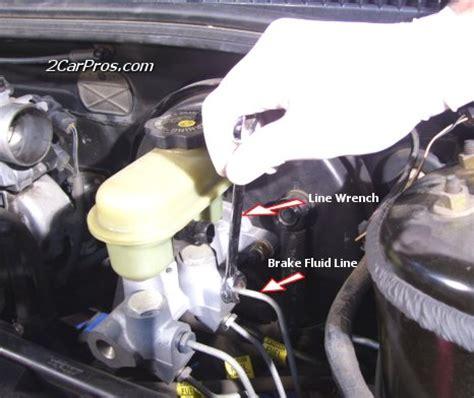 replace  brake master cylinder    minutes