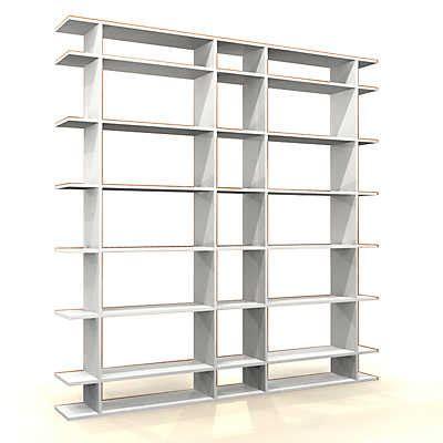 4 Ft Wide Bookshelf by Six Foot Modular Bookshelf Shelving Smart Furniture