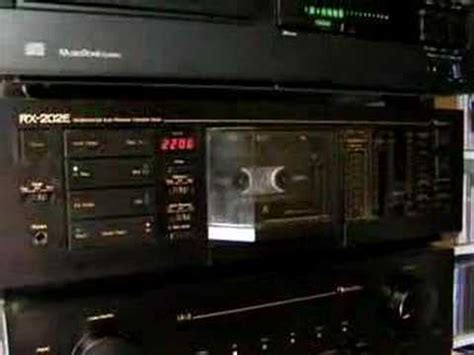 nakamichi deck rx 202 nakamichi rx 202 cassette deck which flips the cassette