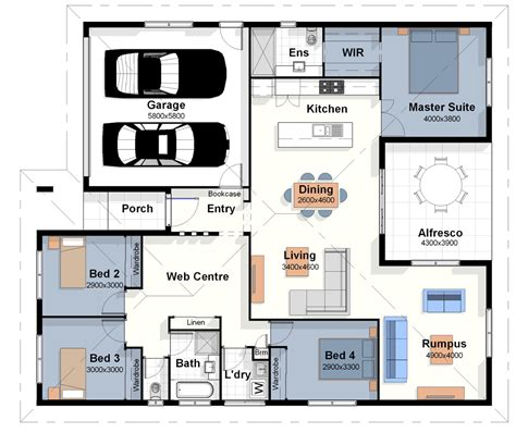 photo of new home floor plans ideas the los angeles house plan