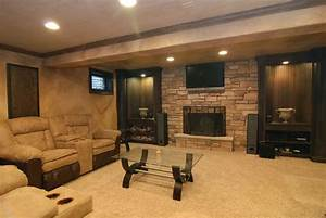 Finished Basement Ideas For Cozy Additional Living Space