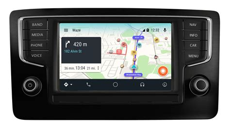 Waze Is Coming To Android Auto