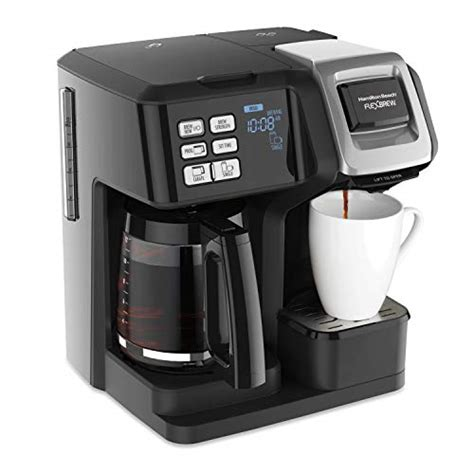 Like other things, coffee makers also require cleaning from time to time. Incredible Two in One Coffee Maker - Hamilton Beach ...