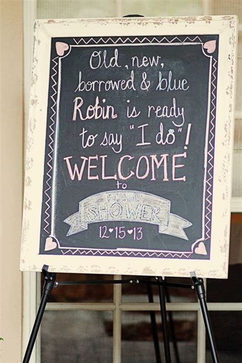 trending bridal shower signs ideas  choose