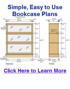 bookcase plans amp tips