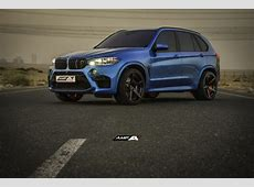 2016 BMW X5 M on 22inch AMP Forged Wheels