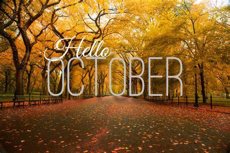 The Posh Coincidence: Hello, October :)