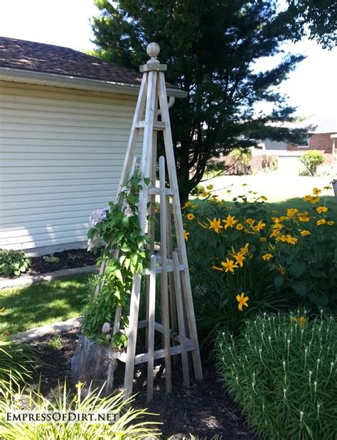 20+ Arbor, Trellis, & Obelisks Ideas  Empress Of Dirt