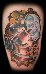 New School Pin Up Girl Tattoo Designs | www.imgkid.com ...