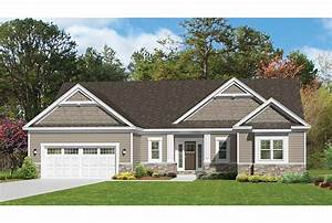 ePlans Ranch House Plan – Roomy & Stylish Ranch – 1796