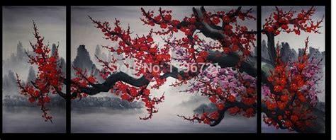 stickers muraux cerisier japonais cherry blossom painting chinaprices net