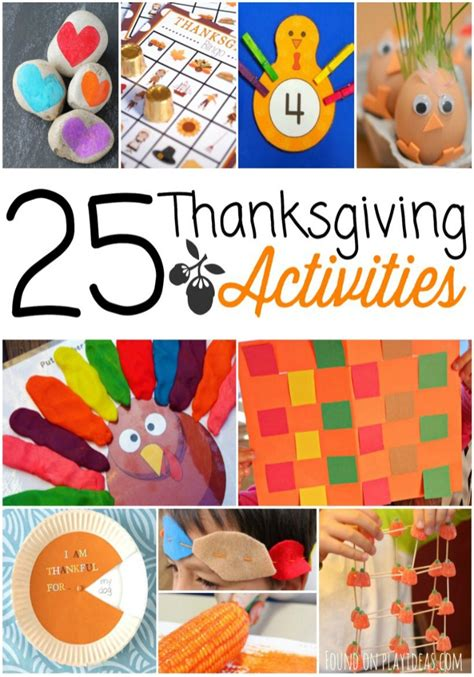 thanksgiving activities  kids