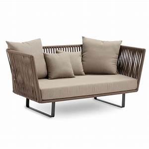 Lounge Sofa 2 Sitzer Outdoor : kettal bitta 2 sitzer outdoor sofa von ~ Whattoseeinmadrid.com Haus und Dekorationen
