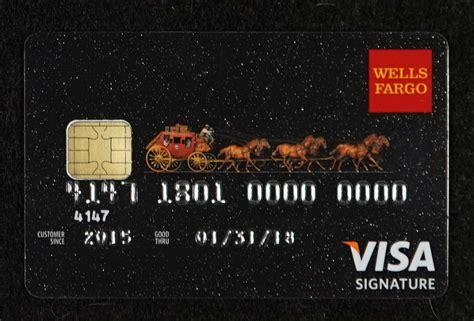 cancel  fraudulent wells fargo credit card