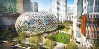 siege social amazon amazon futur siège social entre bureaux et jardins