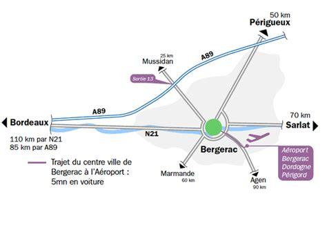 plan d 39 acces plan d 39 accès aéroport bergerac dordogne périgord
