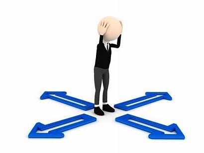 Tough Choices Problem Person Decide 3d Making