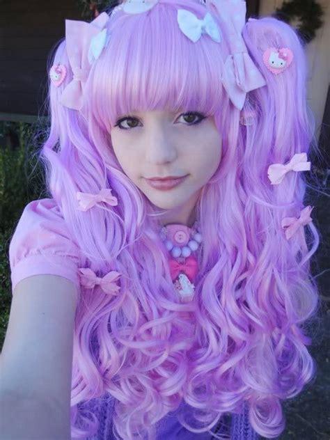 Pretty Purple Wig From Cosplayusa Lolita Hair