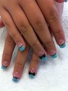 Baby Blue Nail Art – ledufa.com