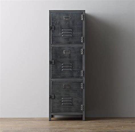 vintage locker  door grey cabinet
