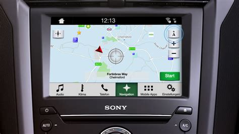 ford sync  ueberblick navigation youtube