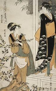 Act II (Geishas) Itsutomi and Hiranoya Kitagawa Utamaro ...