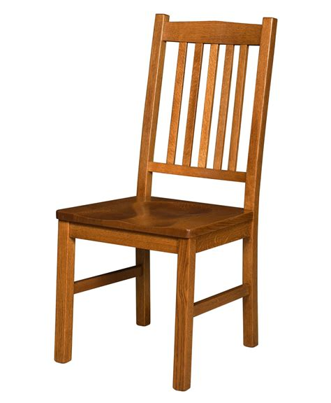 artisan amish mission dining chair amish direct furniture