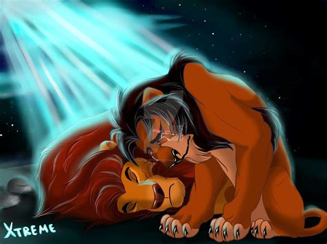 Mufasa And Scar By Diego32tiger On Deviantart