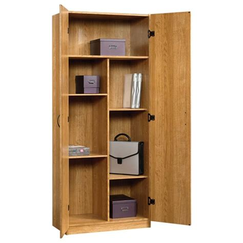 sauder beginnings storage cabinet assembly sauder beginnings collection 71 in 5 shelf particle board