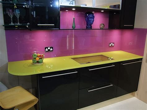 Purple Kitchens