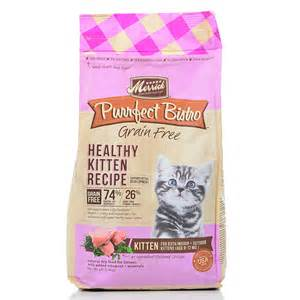 merrick cat food merrick purrfect bistro grain free kitten food