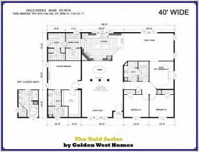 40x60 open floor plans 40x60 barndominium floor plans manufactured modular home