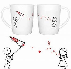 Tassen Bemalen Stifte : m nner kaffee porzellan tassen valentinstag diy kreativ kleine geschenke pinterest ~ Yasmunasinghe.com Haus und Dekorationen