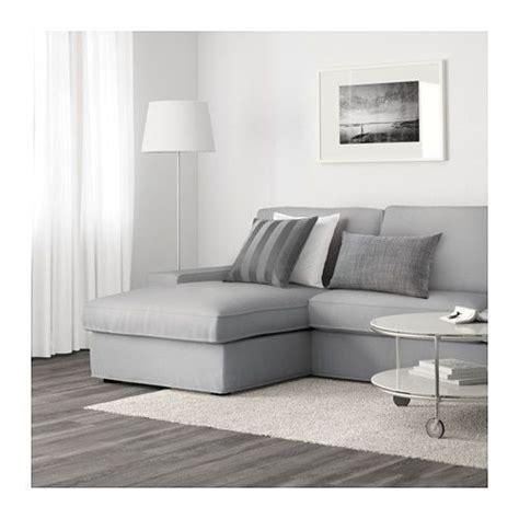 Kivik Sofa And Chaise  Orrsta Light Gray  Ikea Ideas