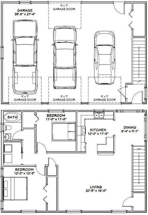 apartment garage floor plans 10 best ideas about garage apartment plans on