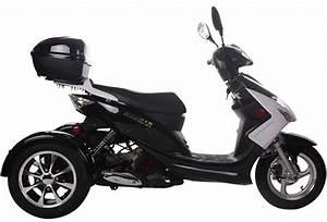 Ice Bear  U0026quot Elf U0026quot  50cc Motor Trike Moped Scooter Pst50