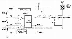 Lm56 Electronic Thermostat Circuit