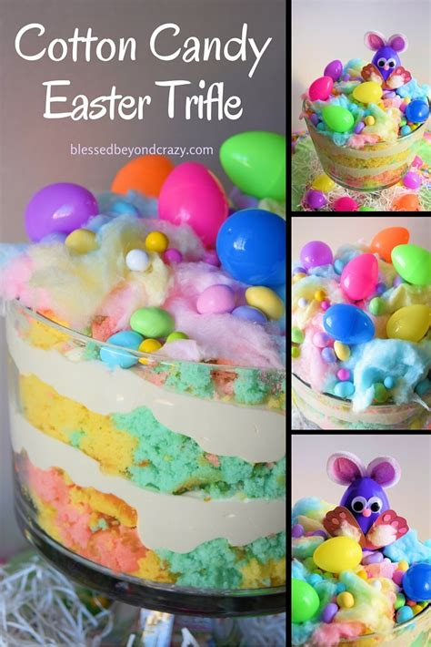 easter trifle recipes cotton candy easter trifle